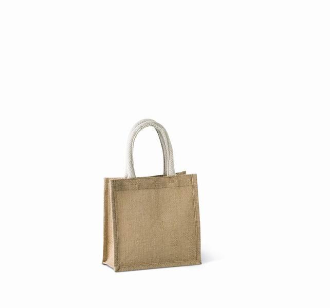 Jutová nákupní taška - malá