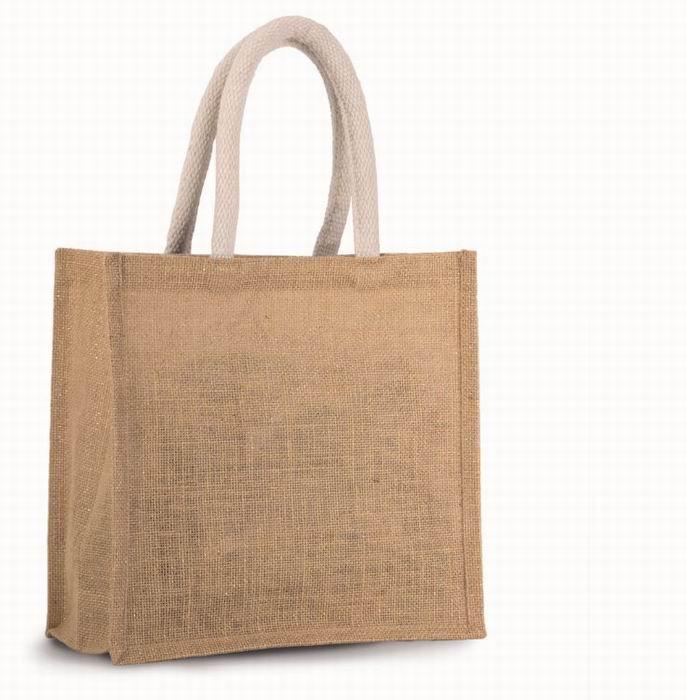 Jutová nákupní taška - støední
