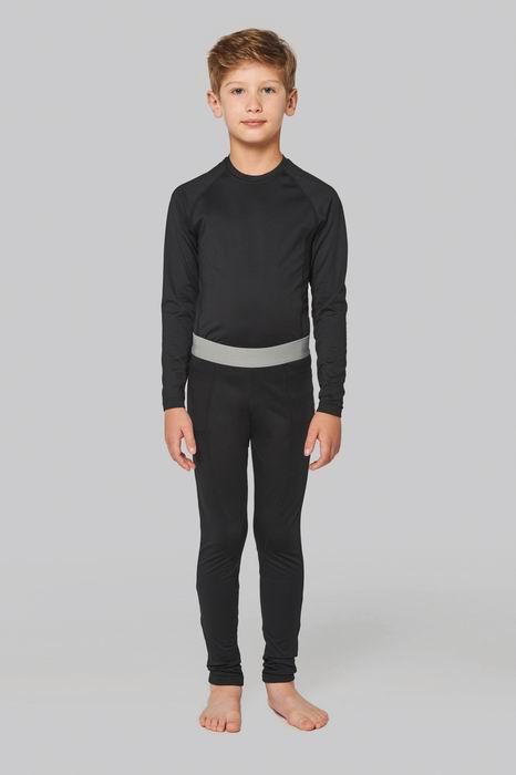 Dìtské sportovní rychleschnoucí elastické triko dl.rukáv