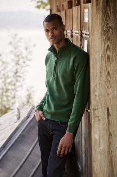 Mikina Premium Zip Neck Sweat