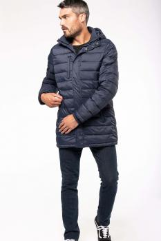 Pánská dlouhá zimní bunda