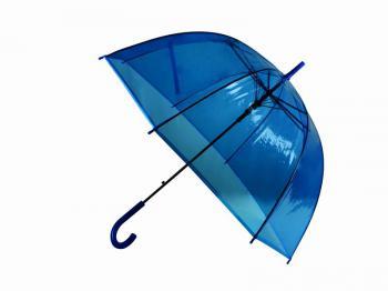Prùhledný deštník