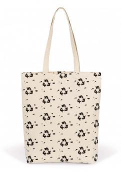 Vzorovaná nákupní taška