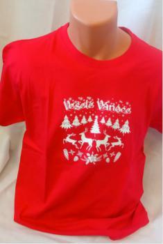 Unisex trièko - Veselé Vánoce