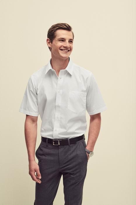 Pánská popelínová košile kr.rukáv Short Sleeve Poplin Shirt - zvìtšit obrázek