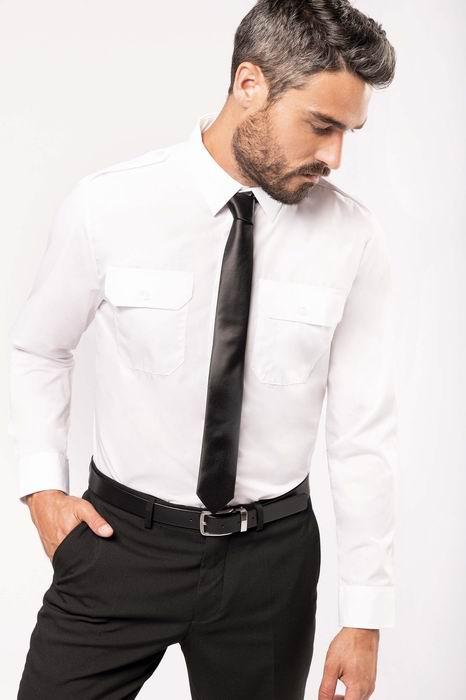 Pánská košile dl. rukáv Pilotka