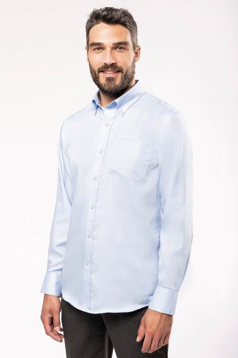 Pánská košile s dlouhým rukávem v nežehlivé úpravì - zvìtšit obrázek