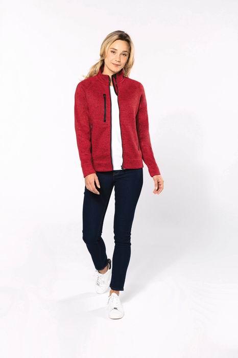 Dámská bundová mikina Full zip heather jacket
