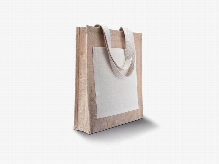 Nákupní jutová taška - zvìtšit obrázek