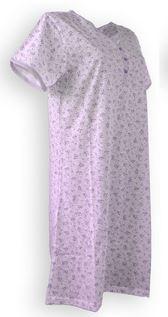 Dámská noèní košile kr. rukáv - zvìtšit obrázek