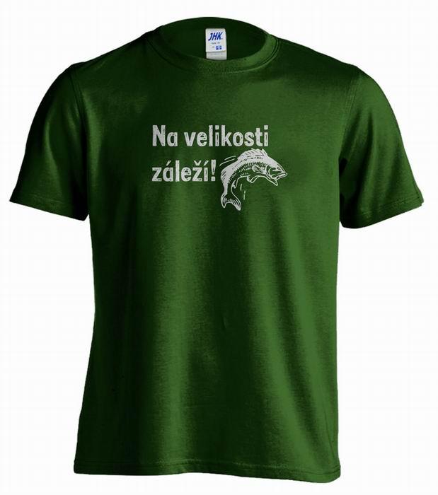 Pánské trièko - Na velikosti záleží! - zvìtšit obrázek