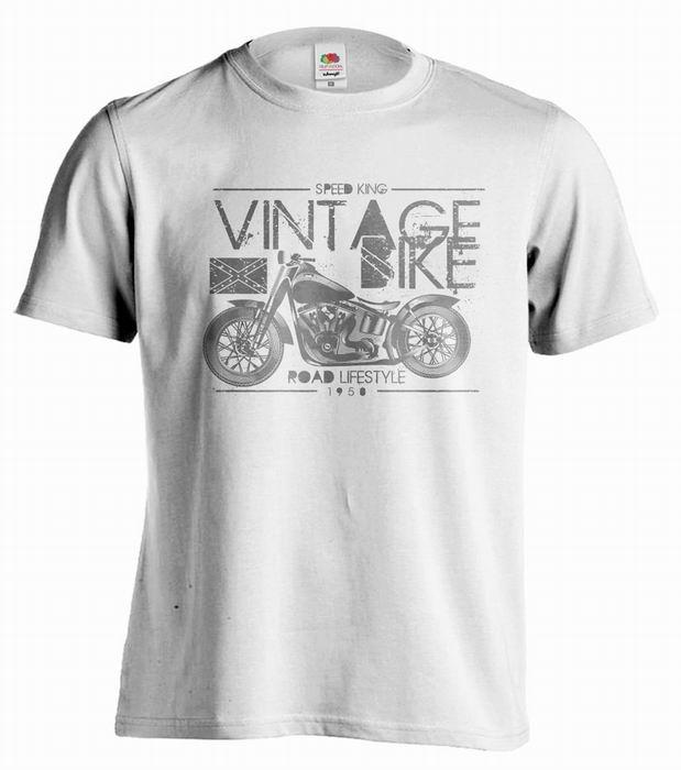Pánské trièko - SPEED KING - VINTAGE BIKE - zvìtšit obrázek