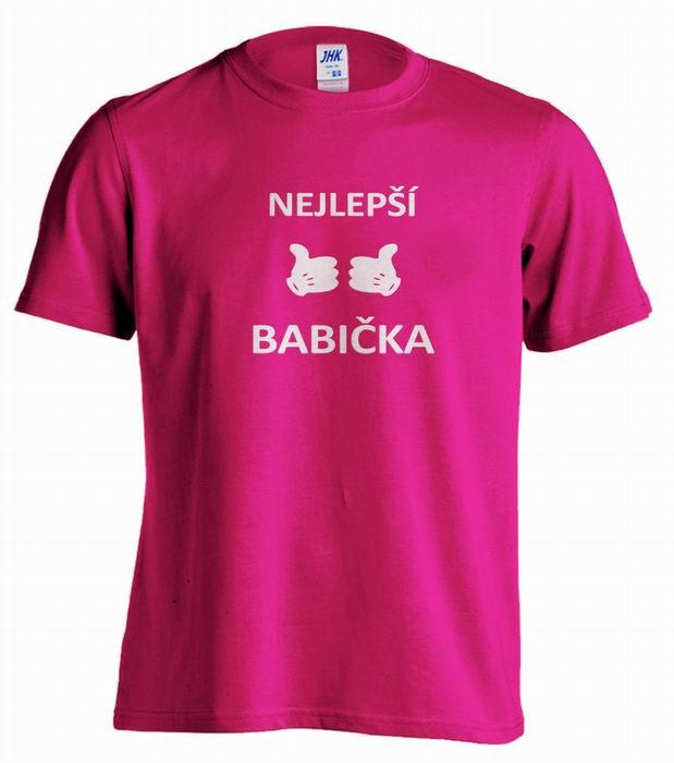 Dámské trièko - NEJLEPŠÍ BABIÈKA - zvìtšit obrázek