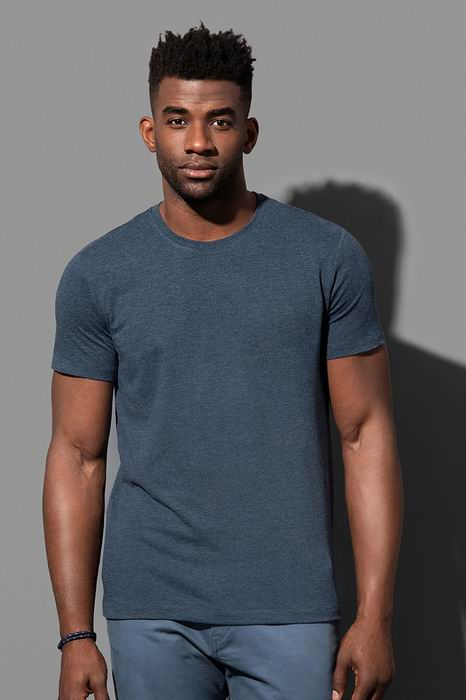"""Pánské trièko LUKE melír do """"U"""" - Výprodej - zvìtšit obrázek"""